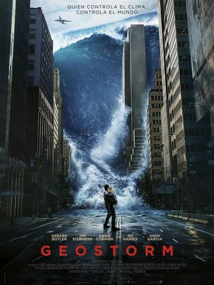 Poster Geostorm 2017