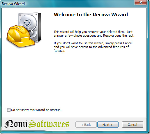 data recovery recuva softwares free download