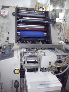 bagian Mesin cetak offset ryobi 510