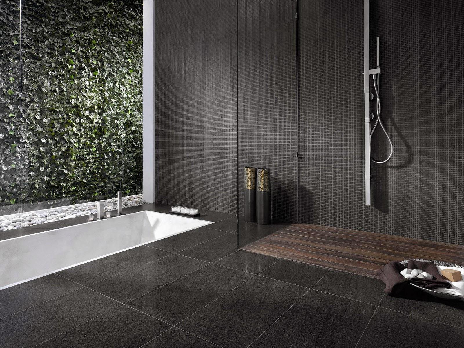 Room-Design-Minimalist-Bathroom-With-Tile-Stone