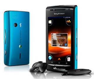 Sony Ericsson E16i W8