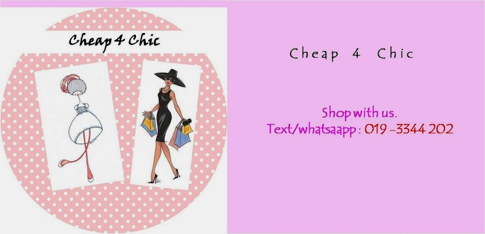 Your Personal Shopper : Cheap 4 Chic