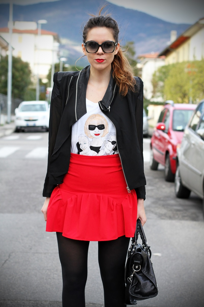 irene colzi fashion blogger outfit casual occhiali gucci gasmy balenciaga look streetstyle 2
