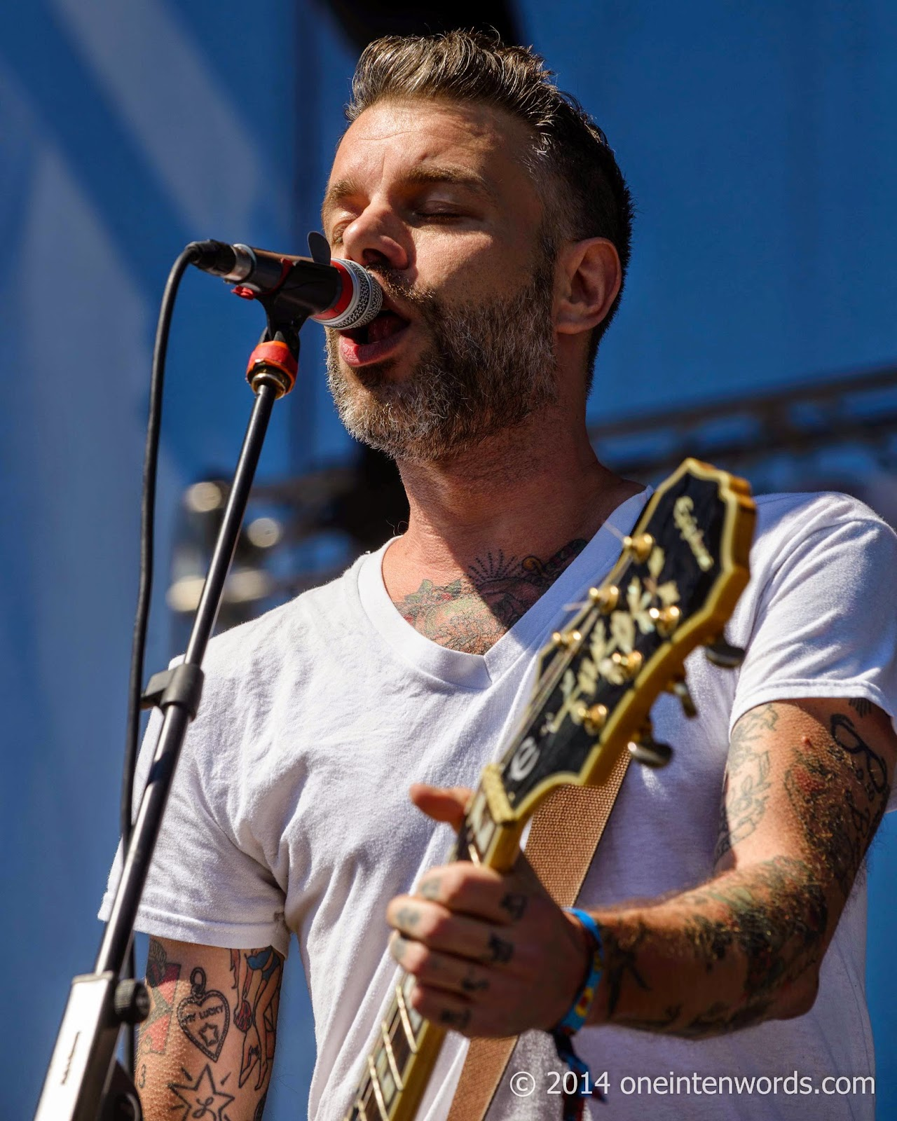 Lucero at Riot Fest Toronto September 7, 2014 Photo by John at One In Ten Words oneintenwords.com toronto indie alternative music blog concert photography pictures
