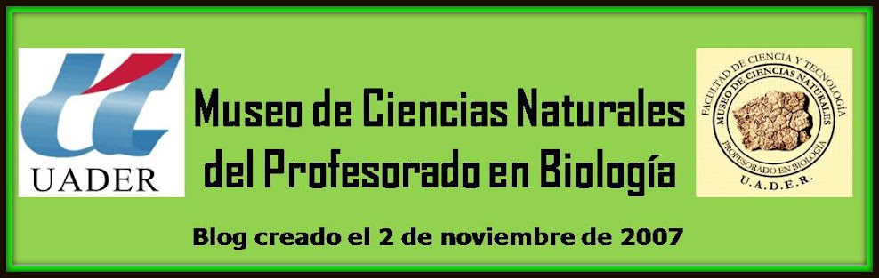 MUSEO DE CIENCIAS NATURALES DEL PROFESORADO EN BIOLOGIA