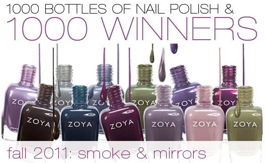 Zoya Nail Polish: 1,000 Bottles of Nail Polish Giveaway - The ...