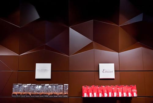 Chocolate Interior for Chocolate Store Design Ideas