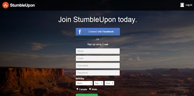 طريقة الحصول على زوار و باك لينك قوي من موقع StumbleUpon