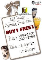 Ochado BUY 1 FREE 1 Opening Promo