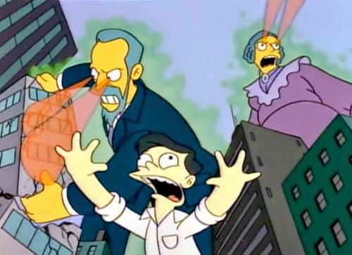 son los curie!! die simpsons giants radium eyes japan Marge Gets a Job