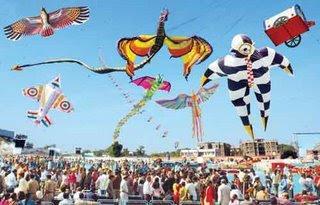 Kite Festival,Gujarat