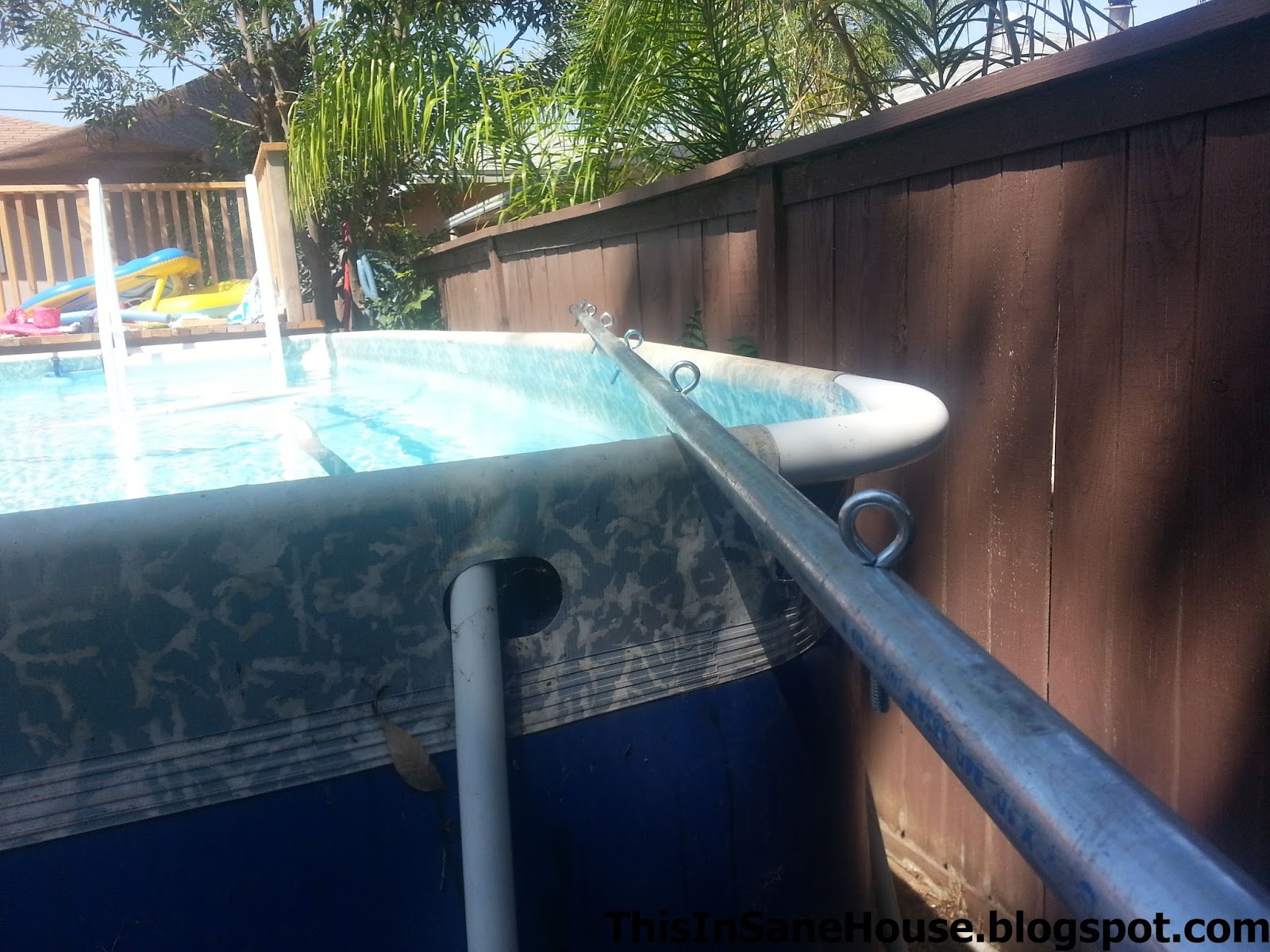 DIY: Solar Cover Reel for an Above Ground Pool