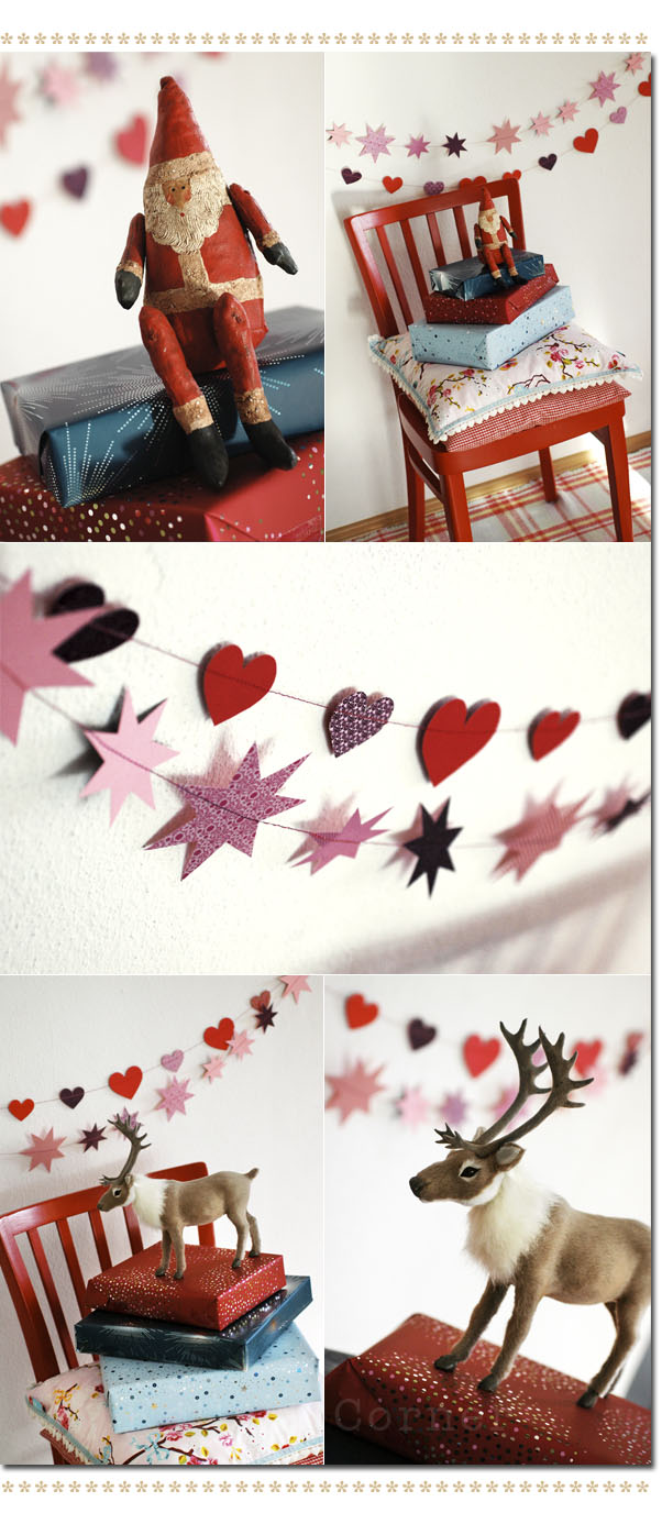 last minute deko mit t rchen n 23 ein diy von kelly les tissus colbert. Black Bedroom Furniture Sets. Home Design Ideas