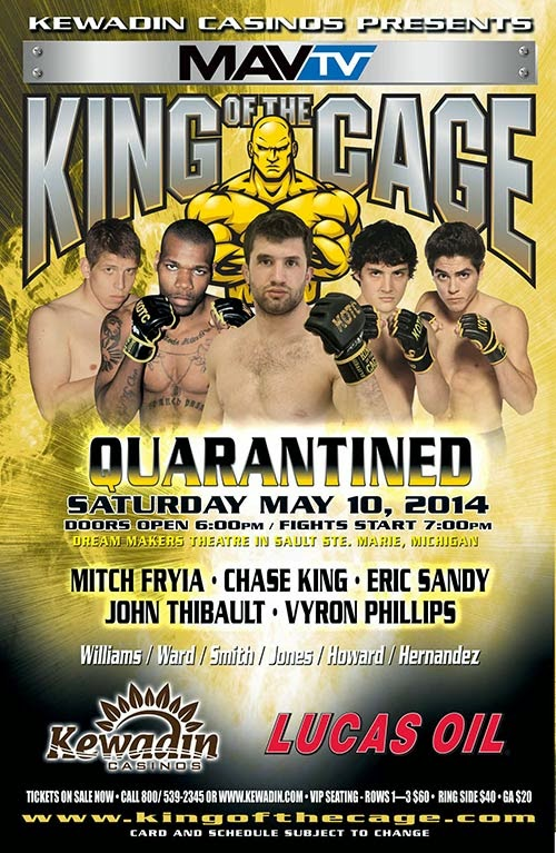 GET YOUR TICKETS FOR UPCOMING MMA EVENTS AT SCMMA.