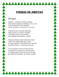 Poemas de Amistad