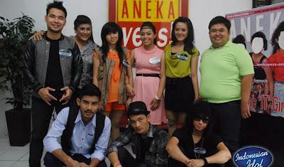 Malam spektakuler The Great 8 Indonesian Idol 2012 Jumat 11 Mei 2012