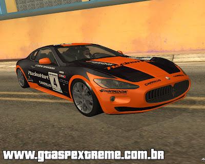 Maserati Gran Turismo S 2011 para grand theft auto