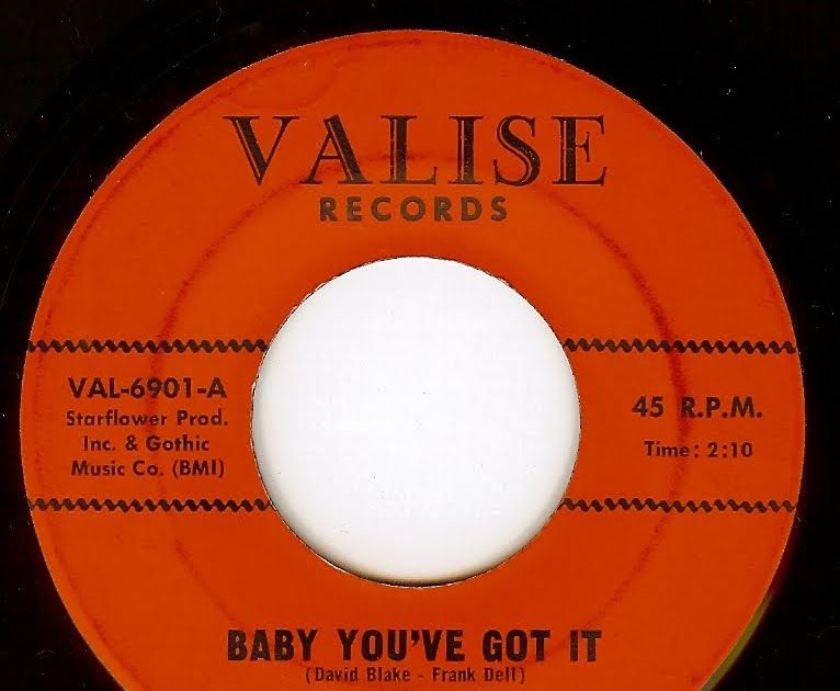 Frank Dell - Baby You've Got It / Need
