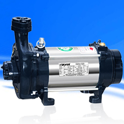 Silver Single Phase Open Well Pump M-28 (0.5HP) (Copper Rotor) Online, India - Pumpkart.com