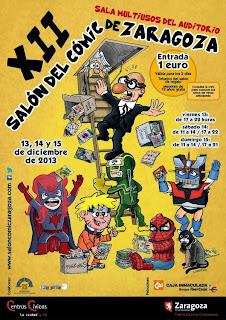 XII Salón del cómic de Zaragoza.