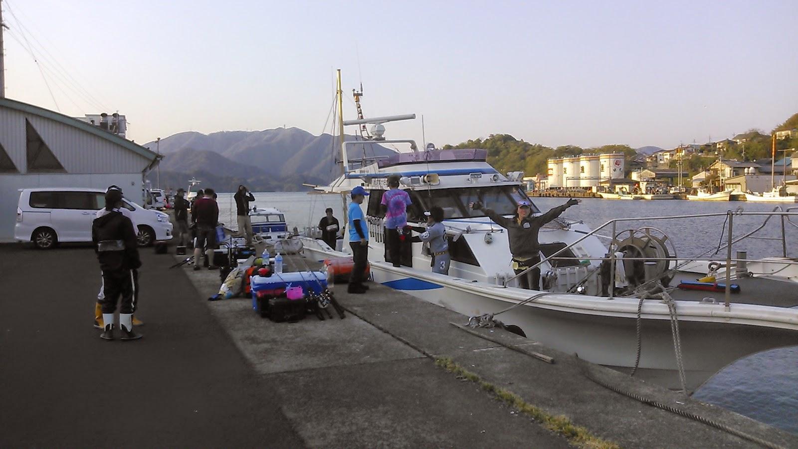 ジギング 船 舞鶴