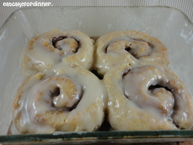Eat Cake For Dinner: Quick Biscuit Style Cinnamon Rolls