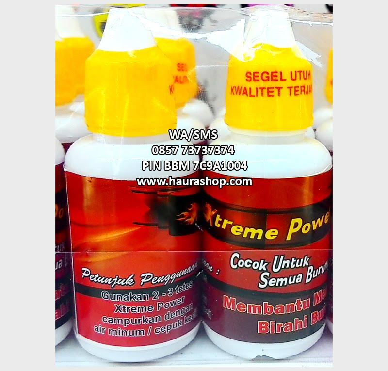 HAURA SHOP Xtreme Power Suplemen Rp30000
