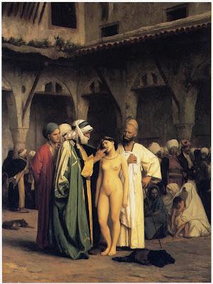 escrava cristã vendida nua na feira