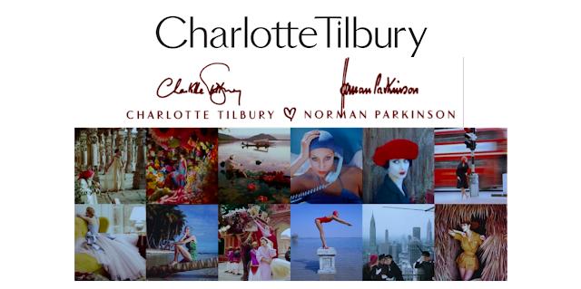 charlotte tilbury x norman parkinson collection