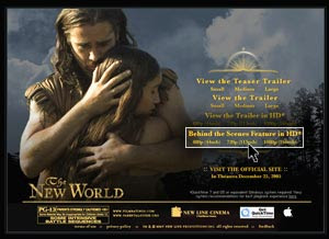 The New World 2005 Hindi Dubbed Movie Watch Online