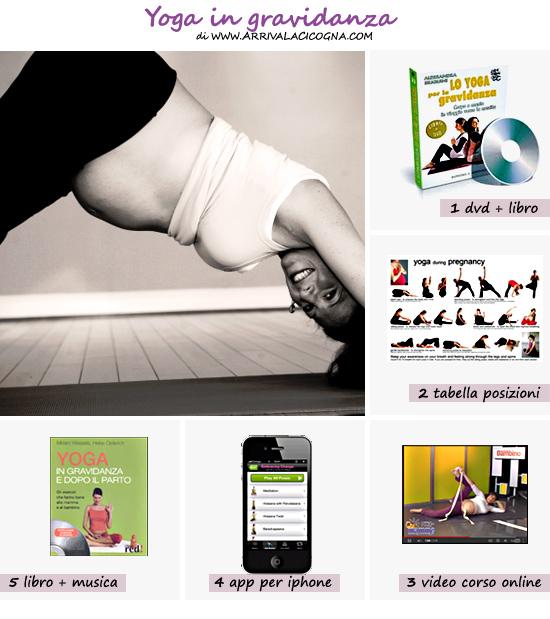 Yoga per la gravidanza: video corsi, dvd di yoga prenatale, app, posizioni di yoga