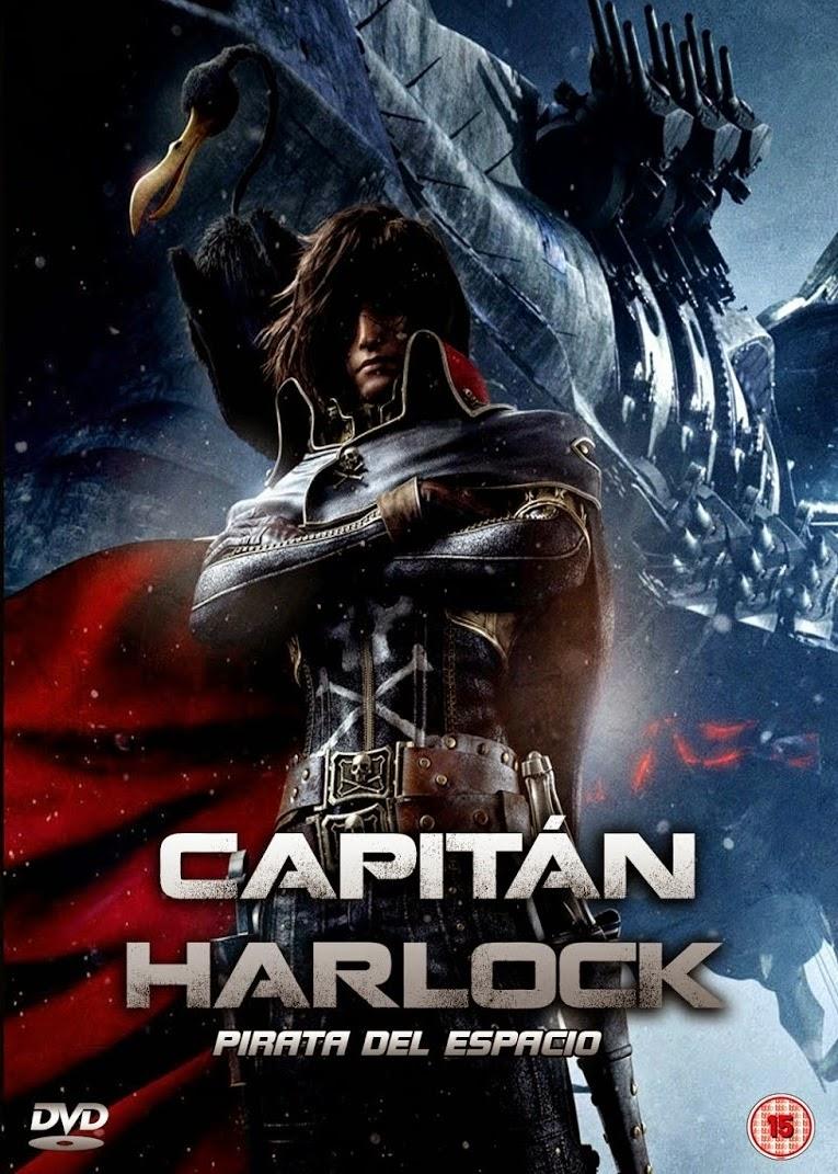 Capitão Harlock: Pirata do Espaço – Dublado (2013)