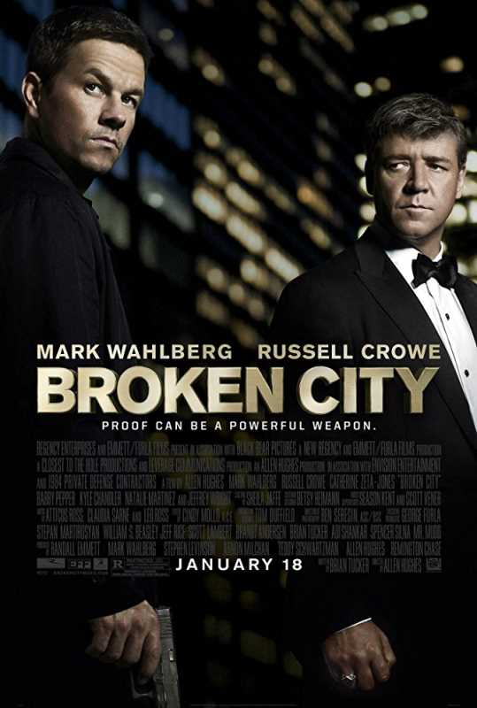 Broken City 2013 720p Esub BluRay  Dual Audio English Hindi GOPISAHI