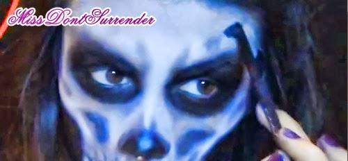 maquillaje de pirata muerto para halloween