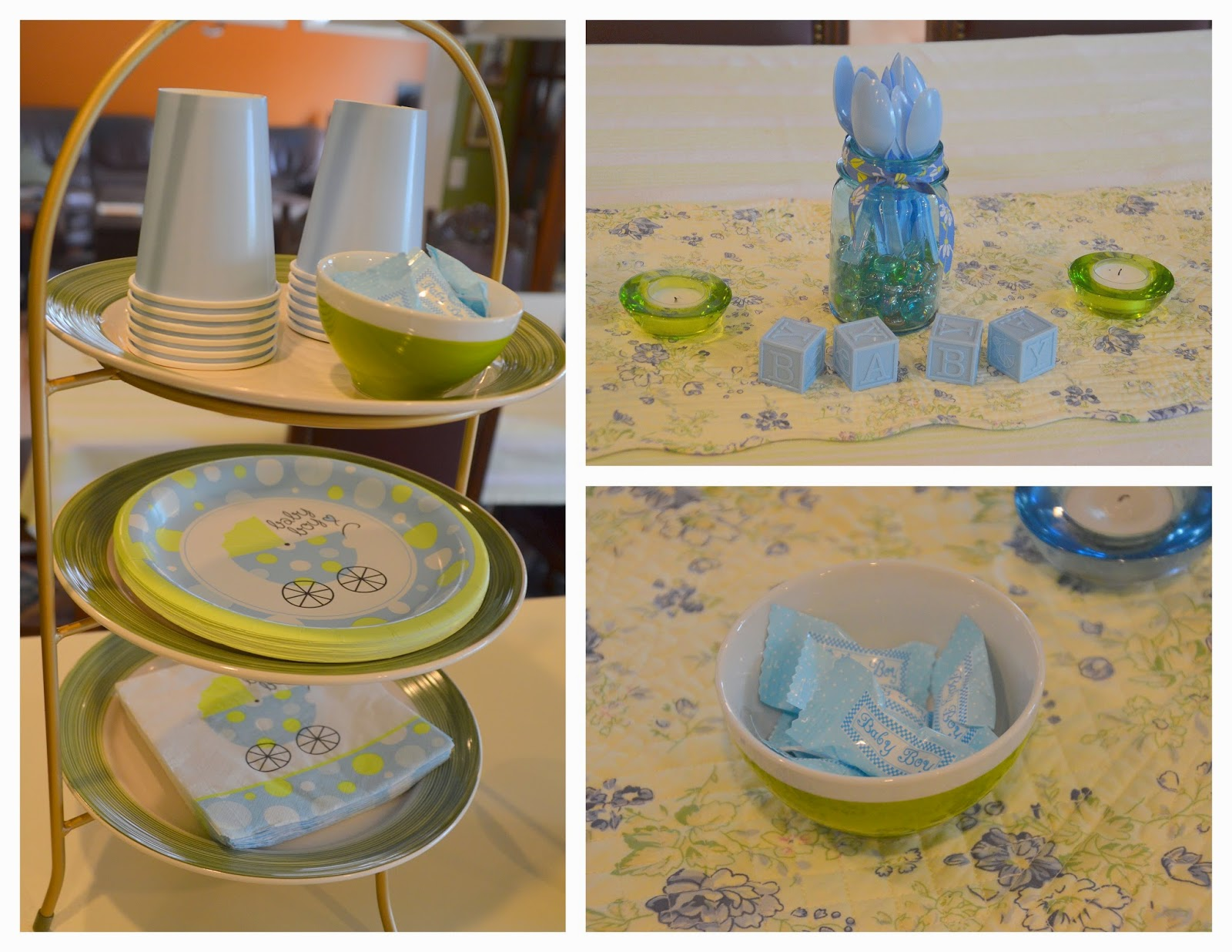 Mennonite girls can cook saturday in ellen 39 s kitchen for Baby shower decoration store