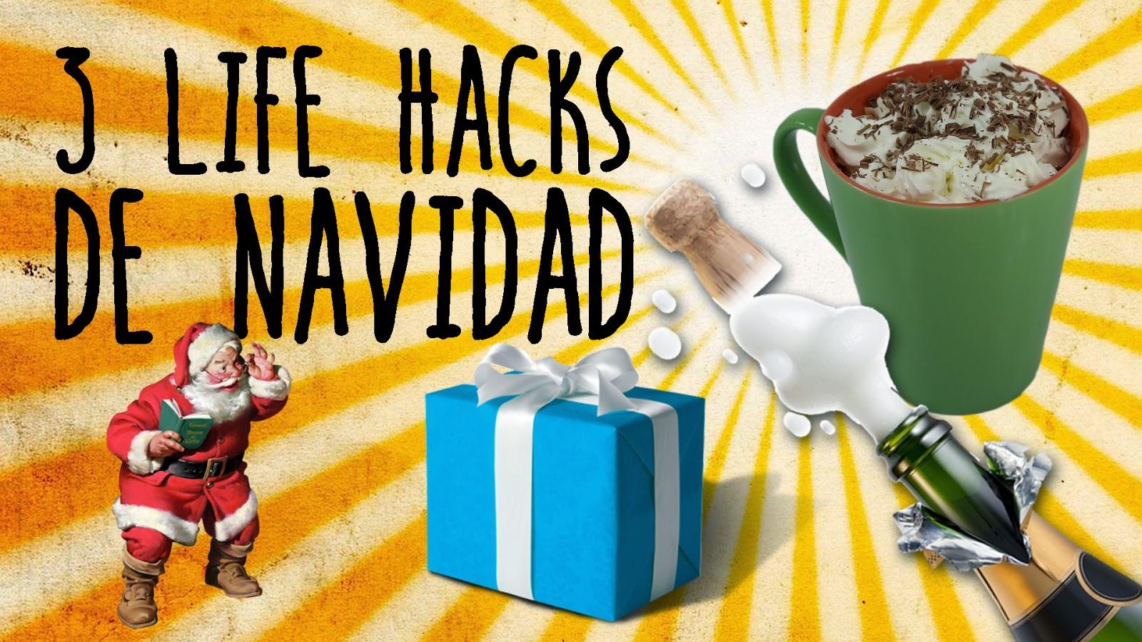 3 life hacks de Navidad, life hacks, experimentos caseros, trucos caseros, trucos de navidad, experimentos sencillos, experimentos fáciles, experimentos para niños, ciencia, ciencia en casa