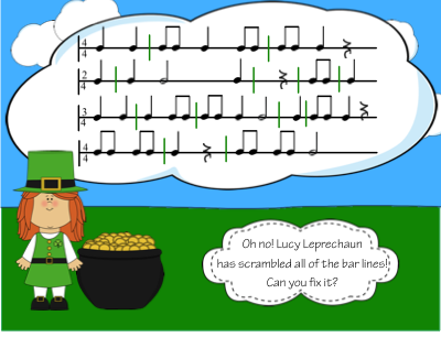 http://www.teacherspayteachers.com/Product/Daily-Edit-Bar-Line-Scramble-St-Patricks-Day-Theme-1120684
