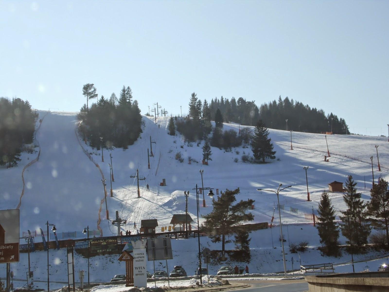 trasy narciarskie polana sosny w niedzicy
