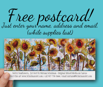 free sunflower postcards http://schulmanart.blogspot.com/2015/11/who-wants-real-mail-free-sunflower.html