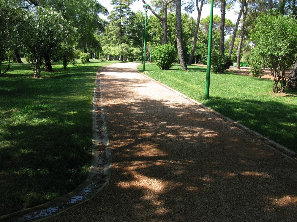 Circuito Parque Cruz Conde Cordoba : Viajar y correr andalucia portugal extremadura al