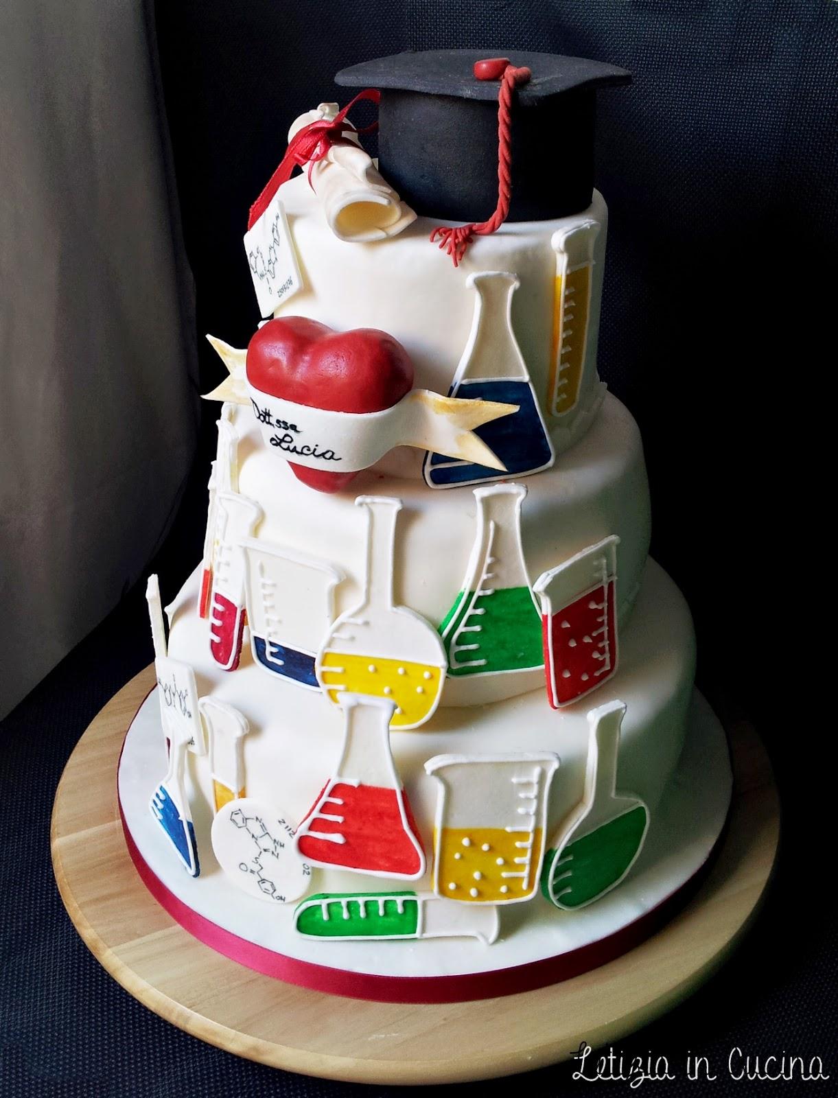 Letizia in cucina torta laurea lucia 2 - Chimica in cucina ...