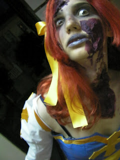 Pintura en cara y pintura zombie Zombie3