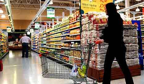 Las ventas en supermercados se incrementaron 11,2 % en marzo