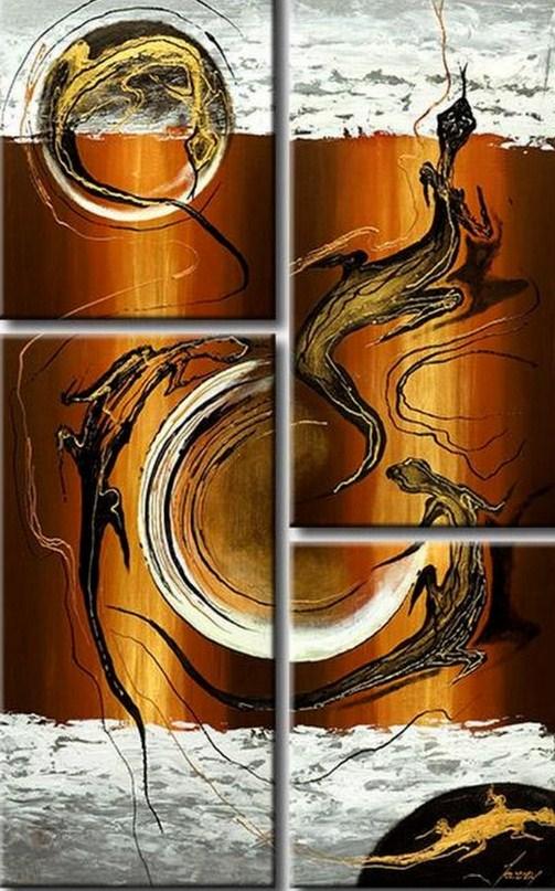 Pinturas cuadros lienzos cuadros decorativos abstractos - Lienzos decorativos ...