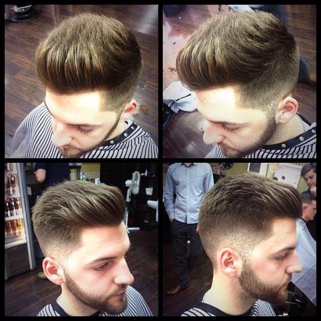 man short hairstyle