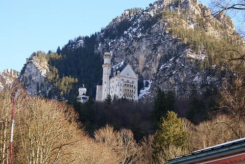 disney castle of europe