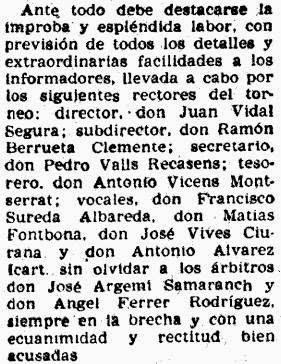 Recorte Mundo Deportivo sobre el Torneo Internacional de Ajedrez Tarragona 1957