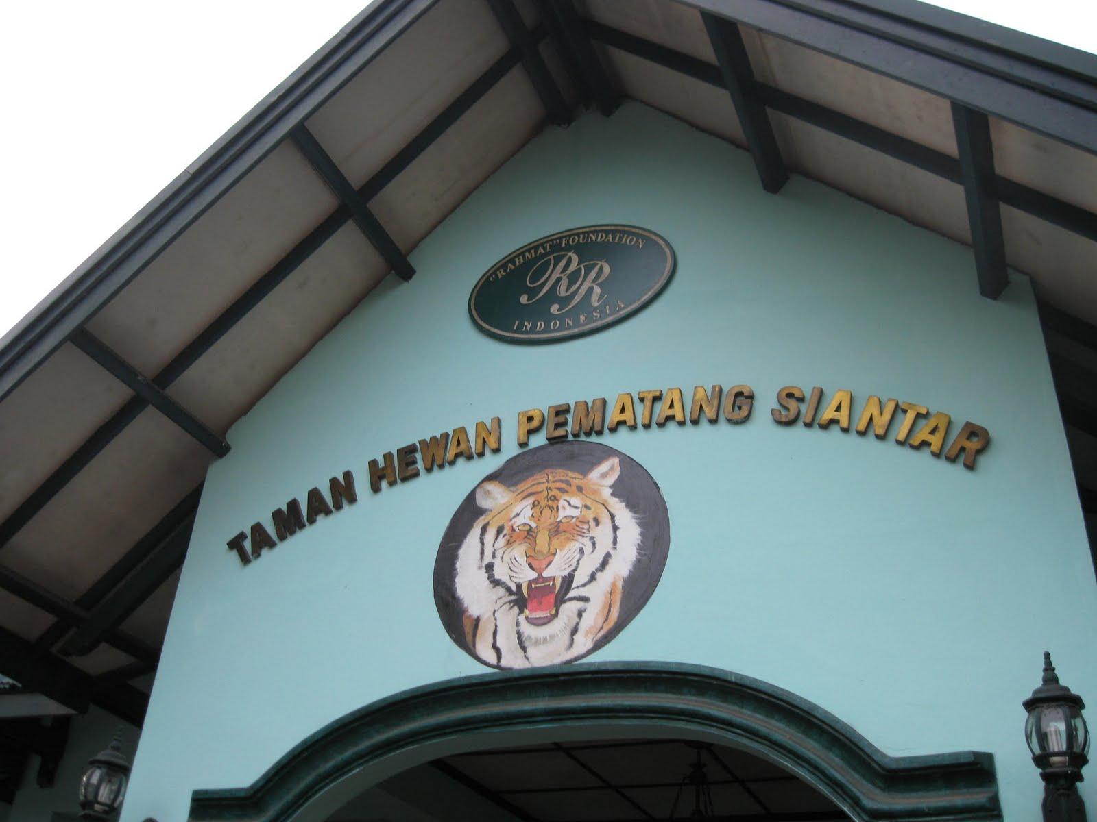 Kebun Binatang Siantar Terbaik Se-Sumatera Utara