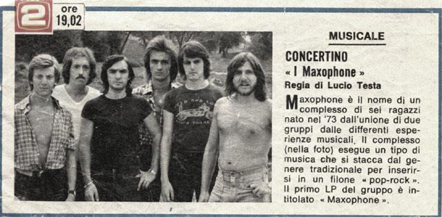Maxophone - Il Fischio Del Vapore