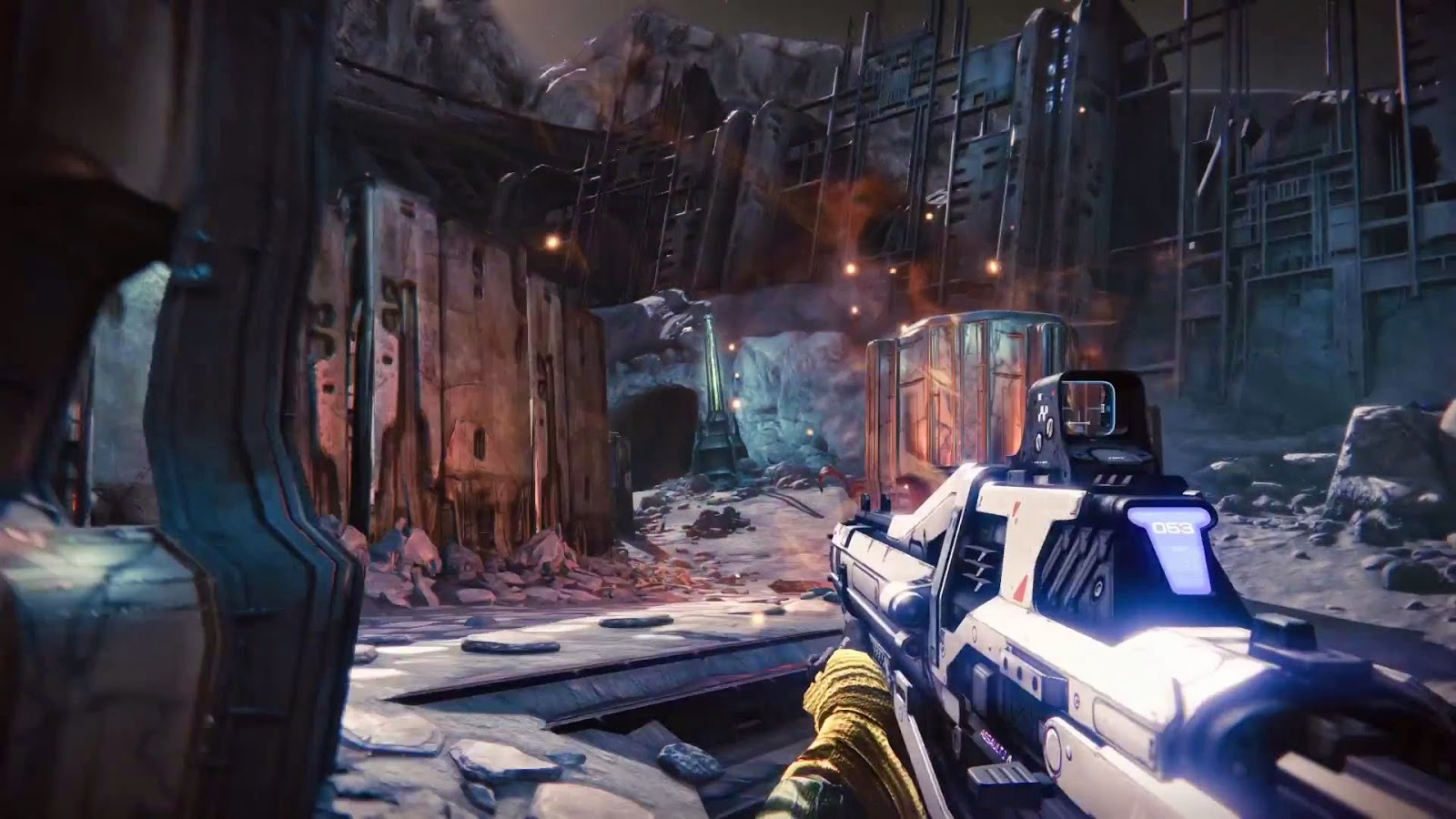 Disappointing game of 2014 Destiny gameplay screenshot